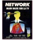 """Network - 47"""" x 63"""" - Large Vintage Original French Movie Poster"""