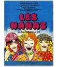"""Les Nanas - 47"""" x 63"""""""