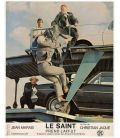 The Saint Lies in Wait - Lot of 2 Vintage Original French Lobby Cards with Jean Marais