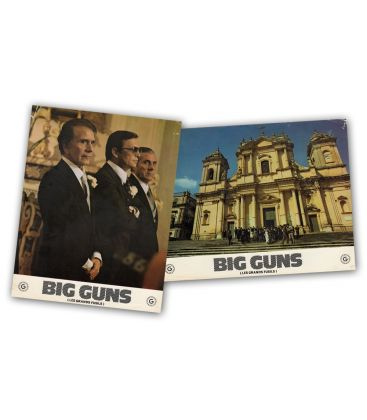 Big Guns - Lot of 2 Vintage Original French Lobby Cards