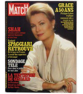 Paris Match Magazine N°1589 - Vintage november 9, 1979 issue with Grace Kelly