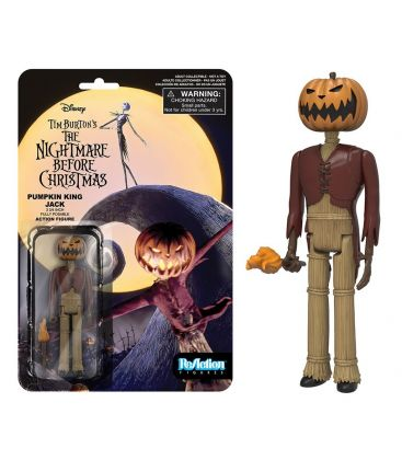 The Nightmare before Christmas - Pumpkin King Jack - ReAction Retro Figure