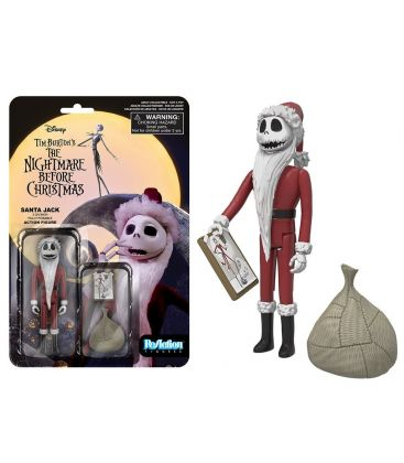 L'Etrange Noël de monsieur Jack - Jack en Père Noël - Figurine rétro ReAction