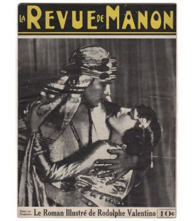 La revue de Manon - 1 octobre 1926 - Ancien magazine québécois avec Rudolph Valentino