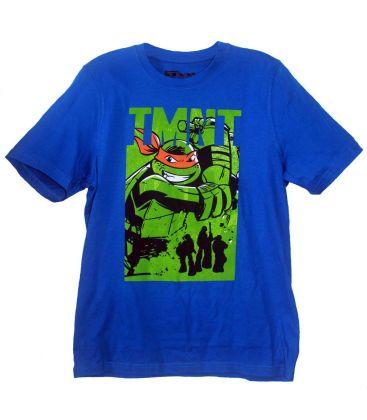 Les tortues ninja t shirt pour gar on avec michelangelo - Tortue ninja michael angelo ...