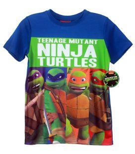 "Les Tortues Ninja - T-Shirt pour garçons ""Les 4 Ninjas"""
