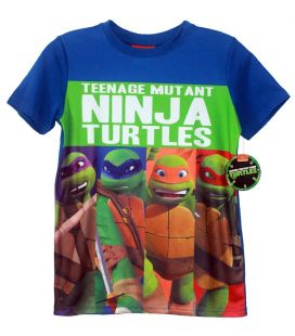 Teenage Mutant Ninja Turtles - T-shirt for boy (The Four Ninja)