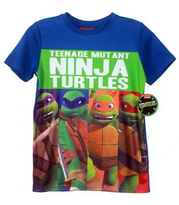 Les tortues ninja t shirt pour gar ons les 4 ninjas cin ma passion - Les 4 tortues ninja ...