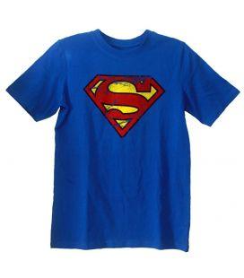 Superman - T-Shirt pour garçon style vintage