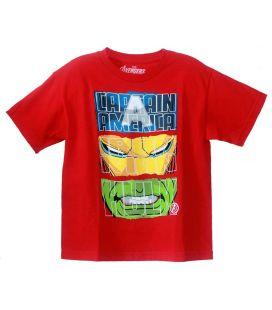 The Avengers - T-shirt rouge pour garçon