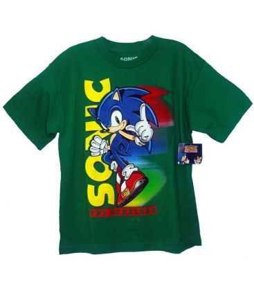 Sonic The Hedgehog T Shirt Green For Boy Cinema Passion