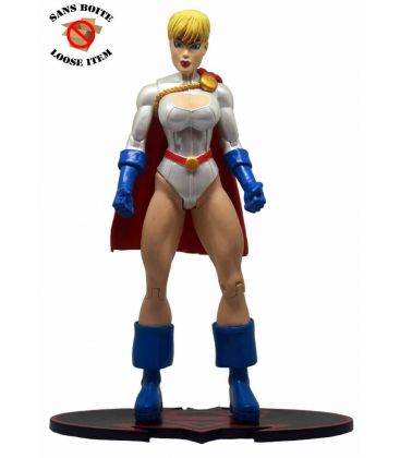 Superman / Batman - Power Girl - DC Comics 7-inch Action Figure Loose