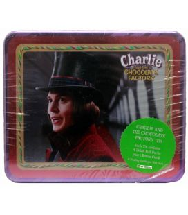 Charlie and the Chocolate Factory - Collector Tin Charlie with 4 packs