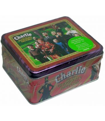 Charlie and the Chocolate Factory - Collector Tin with 4 packs