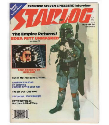 Starlog Magazine N°50 - September 1981 with Boba Fett