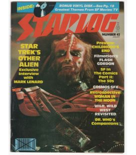 Starlog Magazine N°42 - January 1981 with Star Trek