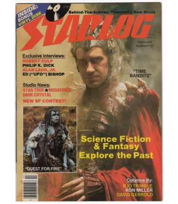 Starlog Magazine N°55 - February 1982 with Time Bandits