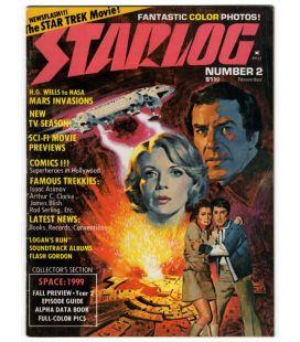 Starlog N°2 - Novembre 1976 - Ancien magazine américain avec Cosmos 1999
