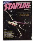 Starlog Magazine N°7 - Vintage August 1977 issue with Star Wars