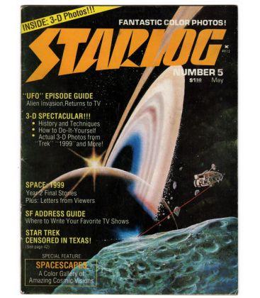 Starlog N°5 - Mai 1977 - Ancien magazine américain sur la science fiction