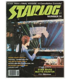 Starlog Magazine N°14 - Vintage June 1978 issue with Star Wars