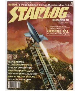 Starlog N°10 - Décembre 1978 - Ancien magazine américain avec Le Choc des mondes