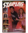 Starlog N°9 - Octobre 1977 - Ancien magazine américain avec la série TV Logan's Run