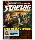 Starlog N°19 - Février 1979 - Ancien magazine américain avec Star Wars