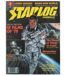 Starlog Magazine N°22 - Vintage May 1979 issue with Roger Moore