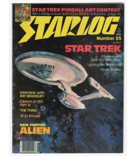 Starlog Magazine N°25 - Vintage August 1979 issue with Star Trek