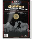 "Pack of 100 cardboards 7.5"" x 10.5"" for Golden Comic Book - BCW"