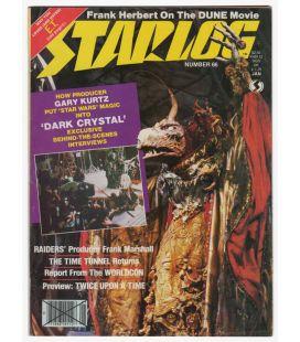 Starlog N°66 - Janvier 1983 - Ancien magazine américain avec Dark Crystal