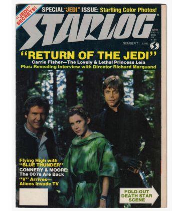 Starlog N°71 - Juin 1983 - Ancien magazine américain avec Star Wars le retour du jedi