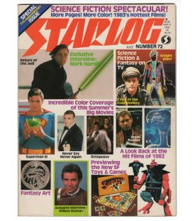 Starlog Magazine N°72 - Vintage July 1983 issue with Mark Hamill
