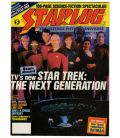 Starlog Magazine N°124 - November 1987 issue with Star Trek The Next Generation