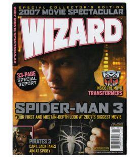 Wizard - Janvier 2007 - Magazine américain avec Spider-Man 3