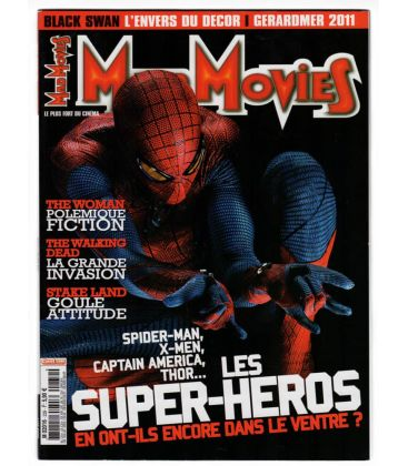 Mad Movies N°239 - Mars 2011 - Magazine français avec L'Extraordinaire Spider-Man