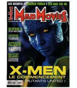 Mad Movies Magazine N°241 - May 2011 - French magazine with X-Men: First Class