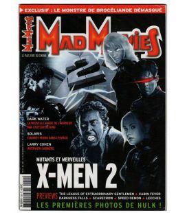 Mad Movies N°150 - Février 2003 - Magazine français avec X-Men 2
