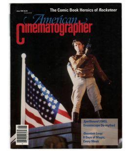 American Cinematographer - Juin 1991 - Magazine américain avec Rocketeer