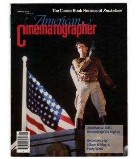 American Cinematographer - June 1991 issue with The Rocketeer