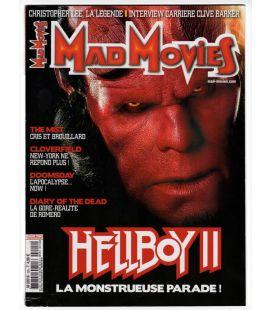 Mad Movies N°205 - Février 2008 - Magazine français avec Hellboy 2