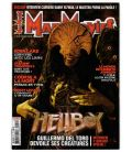 Mad Movies N°212 - Octobre 2008 - Magazine français avec Hellboy 2