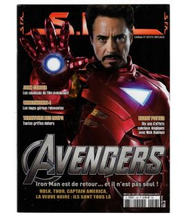 SFX Magazine N°156 - February 2012 - French Magazine with Iron Man
