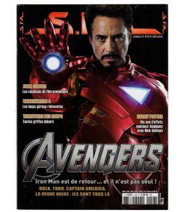 SFX N°156 - Février 2012 - Magazine français avec Iron Man