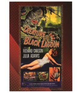 Classic Sci-Fi and Horror Posters - Carte spéciale 3C (Creature of the Black Lagoon)