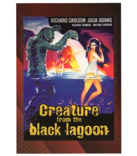 Classic Sci-Fi and Horror Posters - Carte spéciale 4C (Creature of the Black Lagoon)