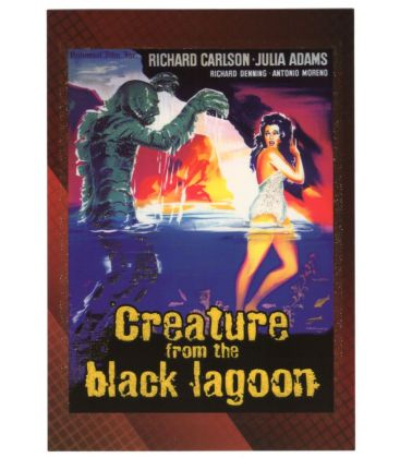 Classic Sci-Fi and Horror Posters - Chase Card 4C (Creature of the Black Lagoon)