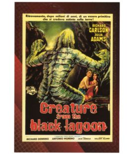 Classic Sci-Fi and Horror Posters - Carte spéciale 5C (Creature of the Black Lagoon)