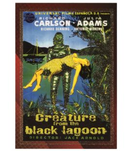 Classic Sci-Fi and Horror Posters - Carte spéciale 6C (Creature of the Black Lagoon)